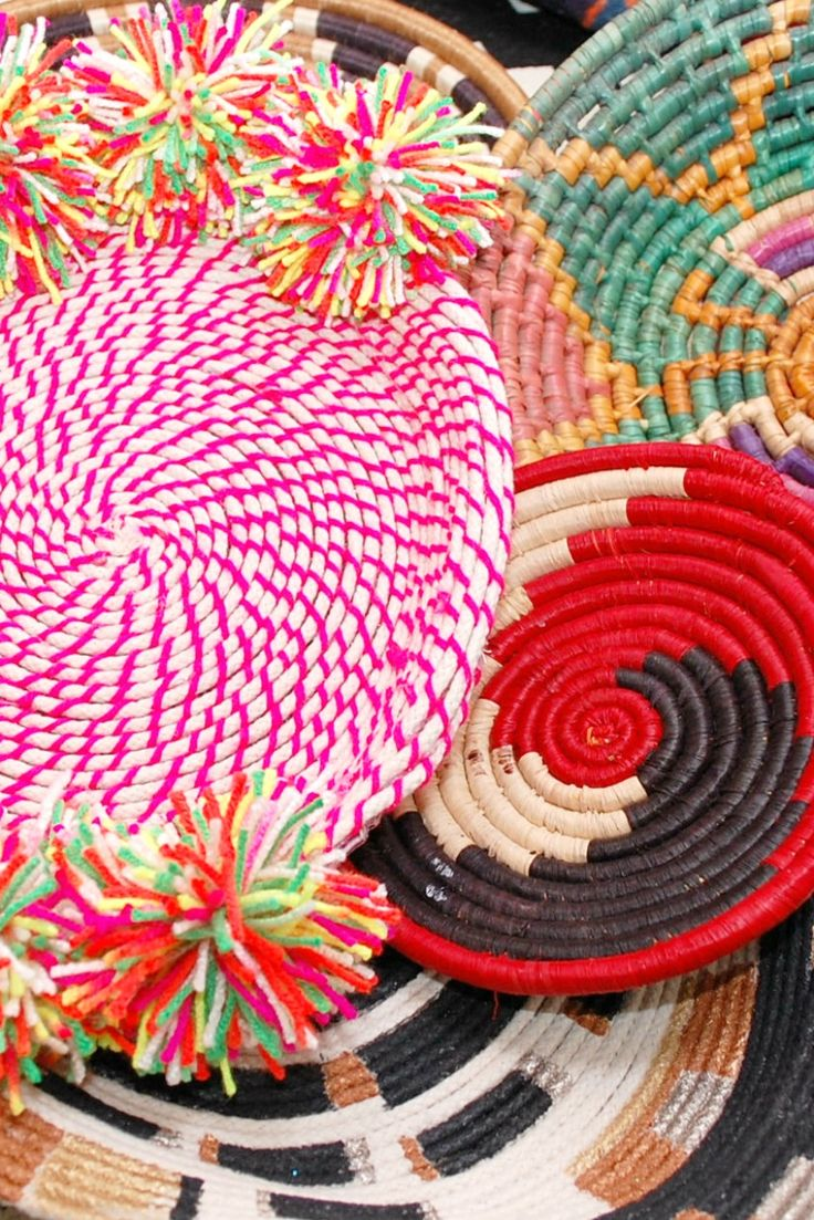 DIY coiled rope bowls by Jenifer Perkins