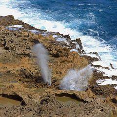 Le trou du souffleur - Guadeloupe