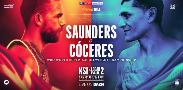 Saunders vs Coceres − How to watch the big fight tonight