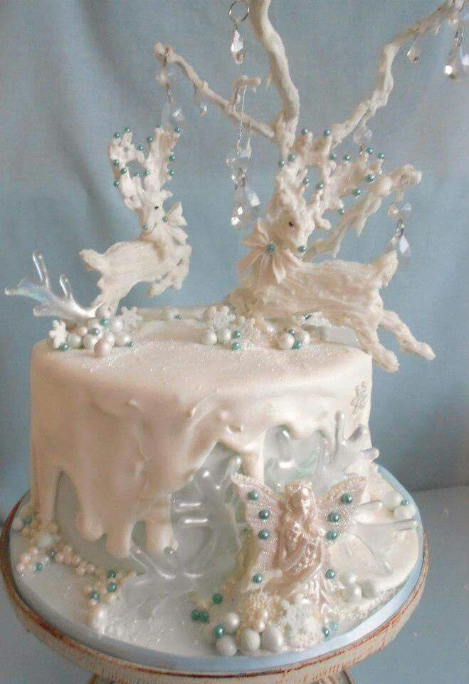 1667 Best Christmas Cakes Images On Pinterest Christmas