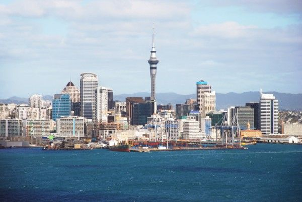 Aukland, New Zealand (I jumped off that tall pointy building)