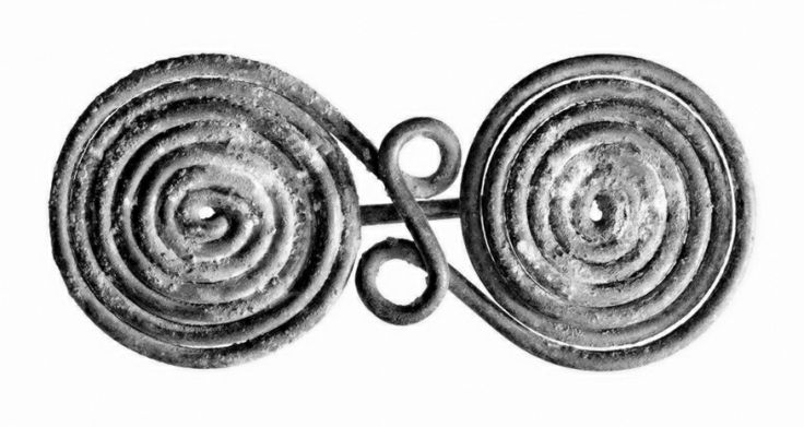 Find of a germanic bronze age brooch.
