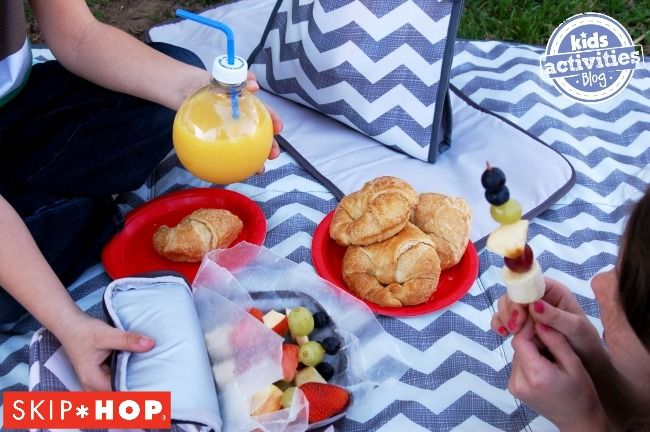 Here are over 50 tips on ways to have a fun picnic with your kids