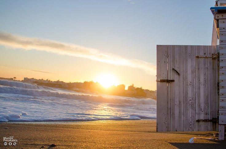 Door to the beach...beautiful, even in wintertime !  #Ierapetra #Crete #Ιεράπετρα #Κρήτη