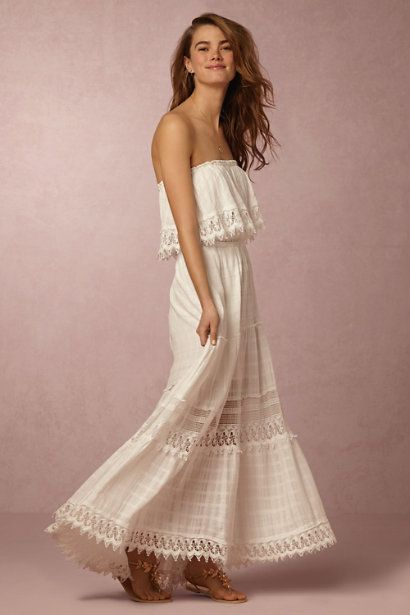 BHLDN Soren Dress in  Bride Beach & Honeymoon Dresses & Separates at BHLDN