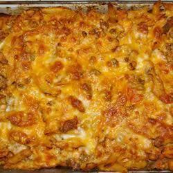 Cazuela de Pasta con Pollo y Chorizo @ allrecipes.com.mx
