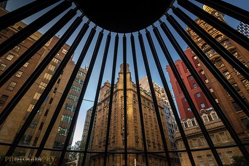 Architectural detail and street shot of Sydney CBD. Copyright Bianca van de Water