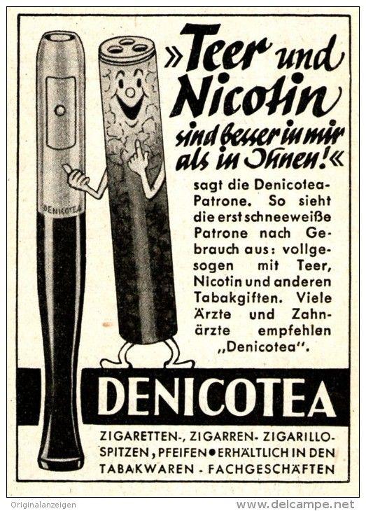 Original-Werbung/ Anzeige 1951 - DENICOTEA - 60 x 90 mm