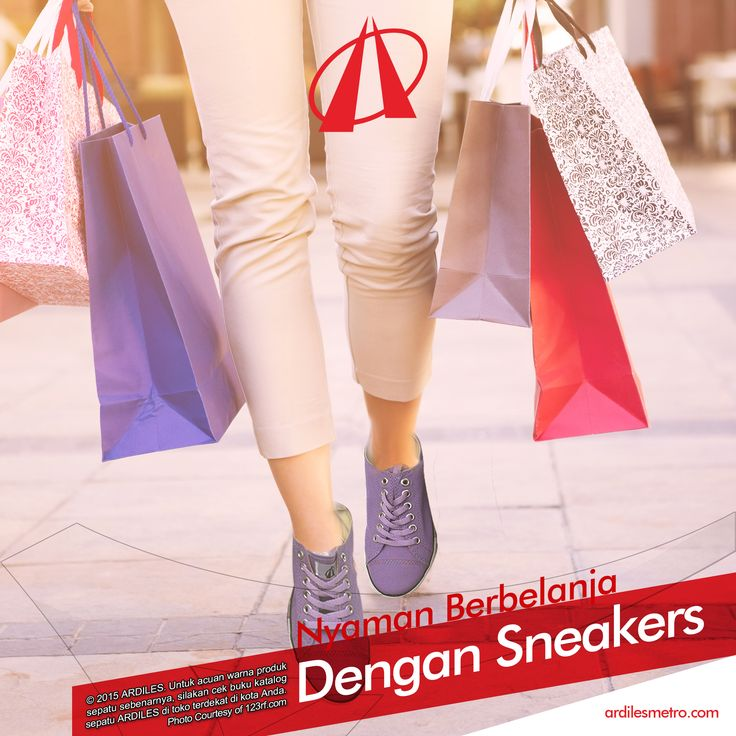 Ardiles Sneakers Lovers, cewek memang tidak kenal lelah dalam berbelanja alias shopping. Cewek bisa menghabiskan waktunya seharian untuk hunting di pusat perbelanjaan dari pagi sampai sore bahkan malam hari. Tak jarang mereka pulang dengan kaki ngilu karena terlalu lama berjalan dan berdiri. #ARDILESsneakers #sepatuARDILES #sepatu #casual #jalanjalan #exploreindonesia #adventure #sneakers #ARDILES #indonesia #surabaya #jakarta