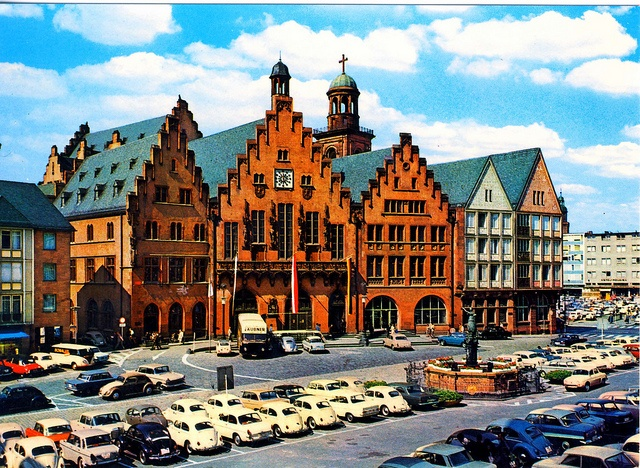 way back in the 1970s - Römer/-berg Frankfurt