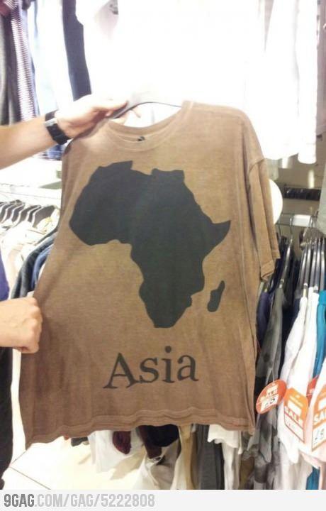 Asia? Really?