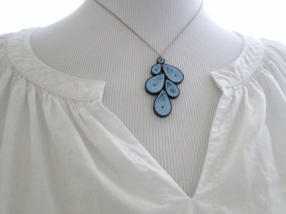 Etsy Quilled jewelry