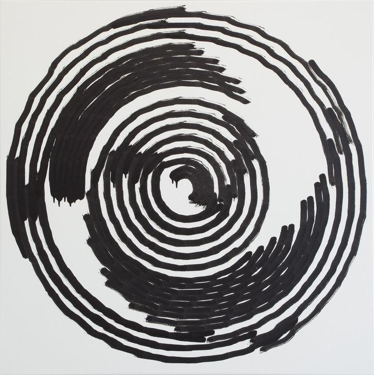 Simon Ingram, No 16, 4 Sept, 2014, sum 952.0894, Oil on Linen, 850 x 850mm