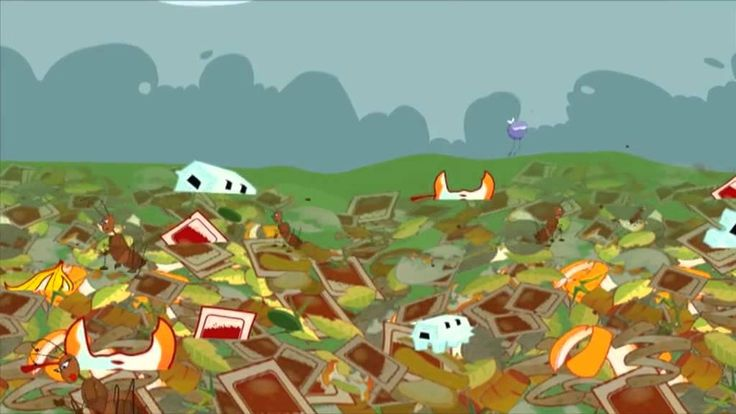 """YouTube: """"How compost is made"""" for kids"""