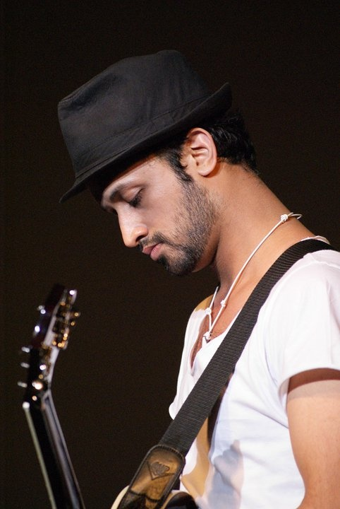 Atif Aslam (pop singer from Pakistan), one of my absolute favorite vocalist/musician ... his voice is beautiful