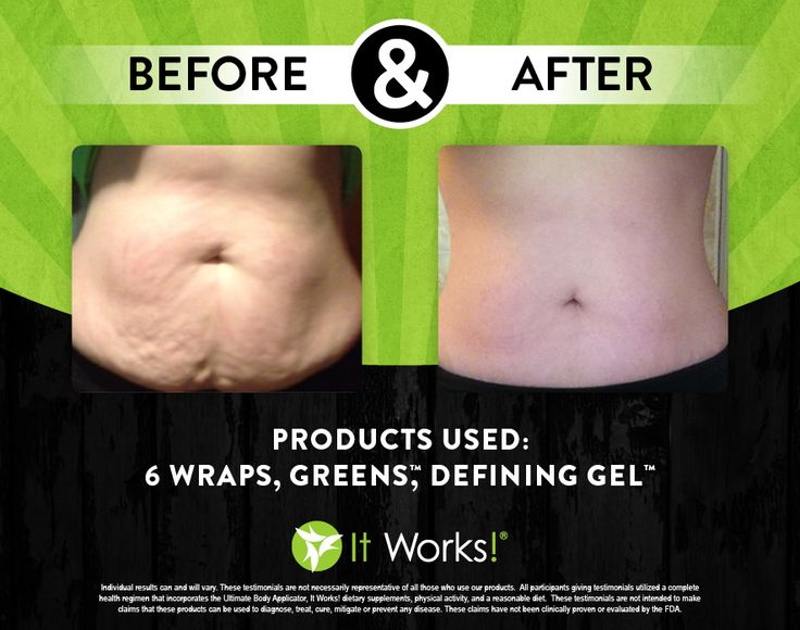 It Works Body Wraps Before and After Pictures! Let's start achieving your body goals together! www.achieveyourgoals.myitworks.com