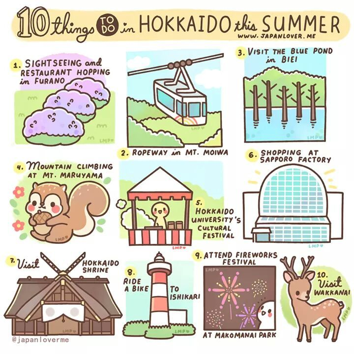 ☀ 10 things to do in Hokkaido this summer ☀ Hokkaido is well-known for its cold climate, and snow that can last for 3 to 5 months. But that does not limit Hokkaido's natural beauty; a beauty that can...