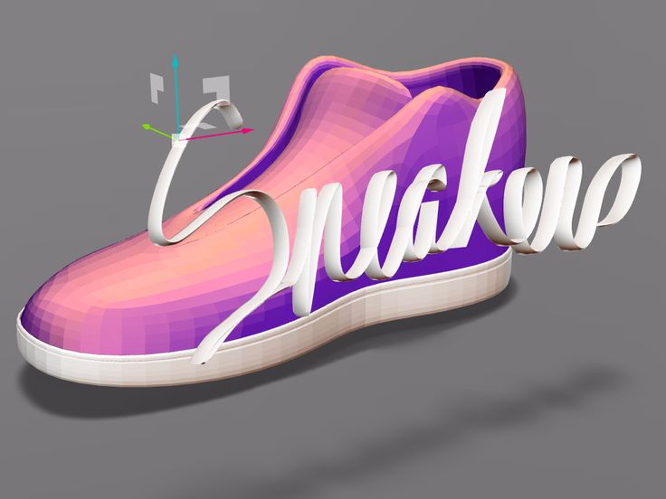 #sneaker #sneakers #shoes #3dmodeling #3d #3dprinting