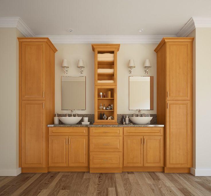 Harvest Oak Bathroom Vanity. 17 Best images about RTA Bathroom Vanities on Pinterest   Cherries