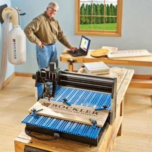 The Rockler CNC Shark Pro Plus is a great option for a variety of projects.