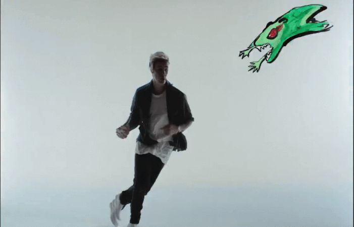 A different take on video songs. #JustinBieber #Belieber #Creative #Imginative #GIF #Funny