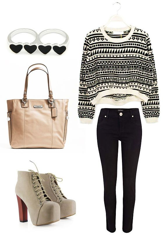 aztec smart casual look