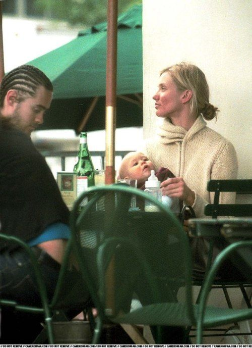 JARED LETO and CAMERON DIAZ  (with her niece)