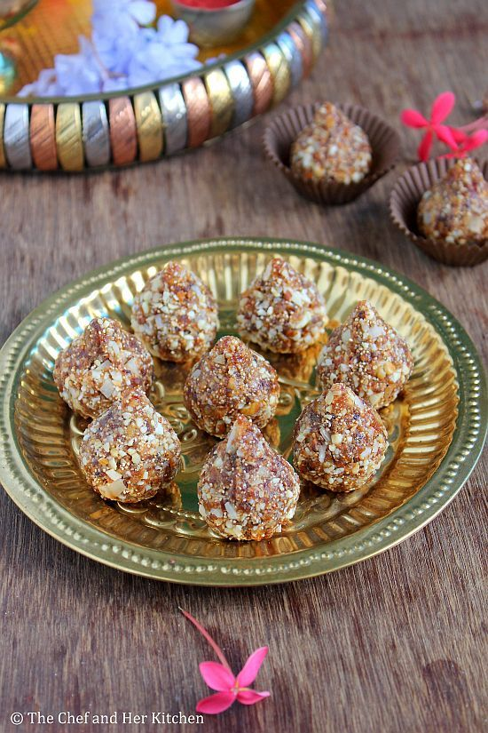 Dry Fruit Modak Recipe | Kharjur Modak |