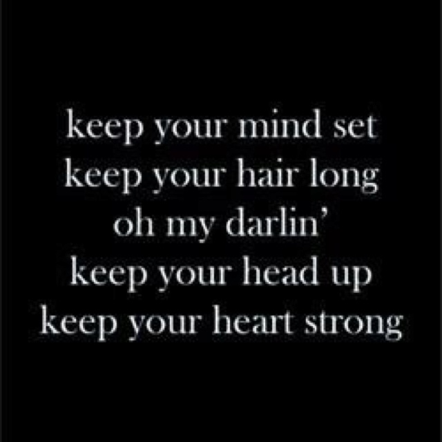 Keep Your Head Up - YouTube