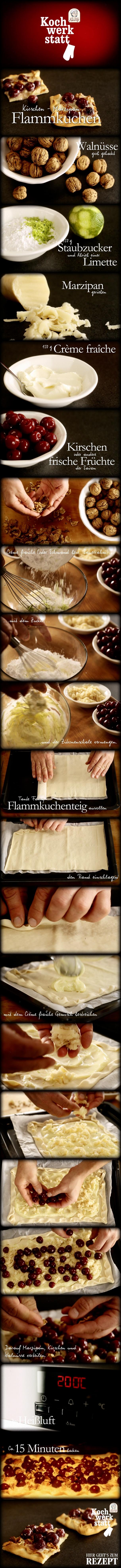 Kirschen marzipan flammkuchen oder eine geniale pinterest idee by digitalwerk f r tante fanny