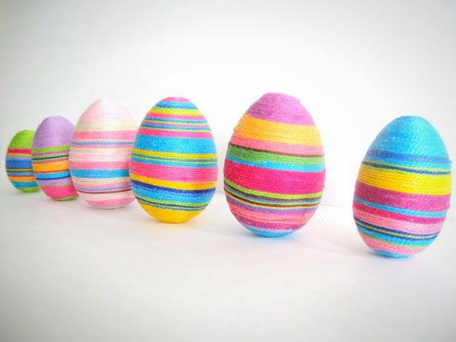 40 More Egg-cellent DIY Easter Egg Ideas via Brit + Co