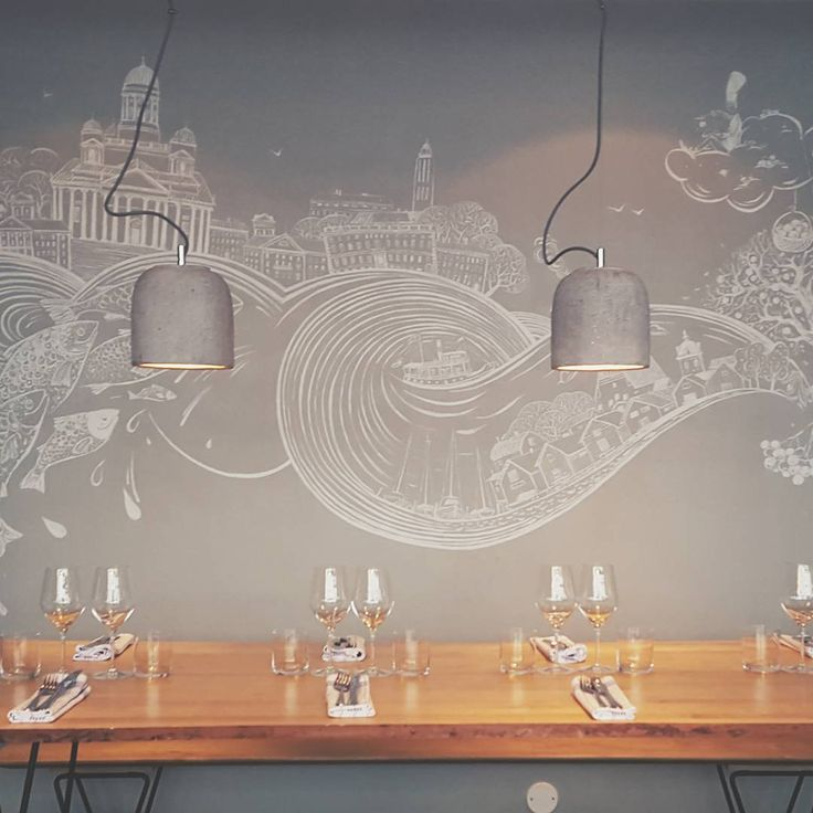 Restaurant Sinne Helsinki with our Arturo lamps. Great place, beautiful lighting, excellent food👌 #sessakdesign #sessaklighting #sessak #lamps #riippuvalaisimet #arturo #betoninenkupu #lighting  #Sinne#sinnehelsinki #ravintolasinne #finnishdesign #scandinaviandesign #interior #inredning #etuovisisustus #interior4all #sisustusinspiraatio #interiorinspiration #nordicinspiration #simplicity #visitfinland #visithelsinki #visitporvoo #ig_finland