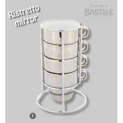 Mirror Stacking mugs.   available on www.sherrynssecret.com