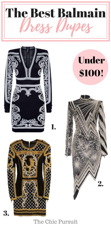 36++ Balmain dress look alikes ideas