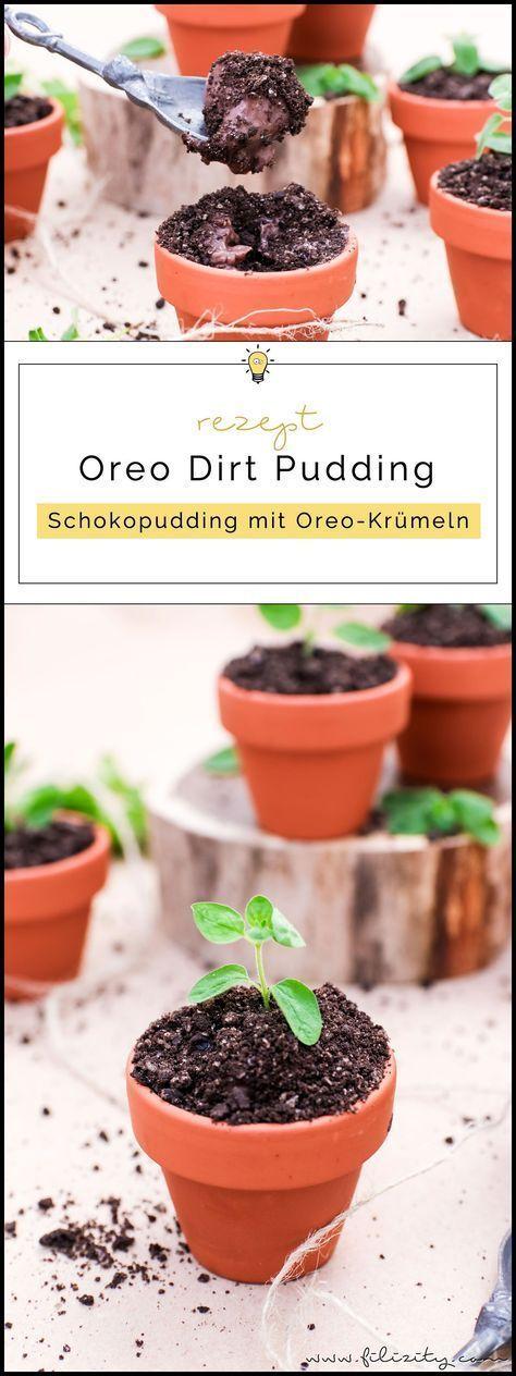 Oreo Dirt Pudding – Schoko-Pudding im Blumentopf – #Blumentopf #Dirt #im #Oreo #…