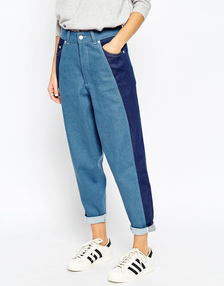 ASOS WHITE Ovoid Jeans