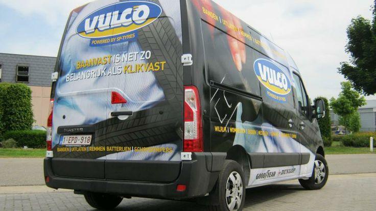 Car wrap voor Vulco | Total Concept