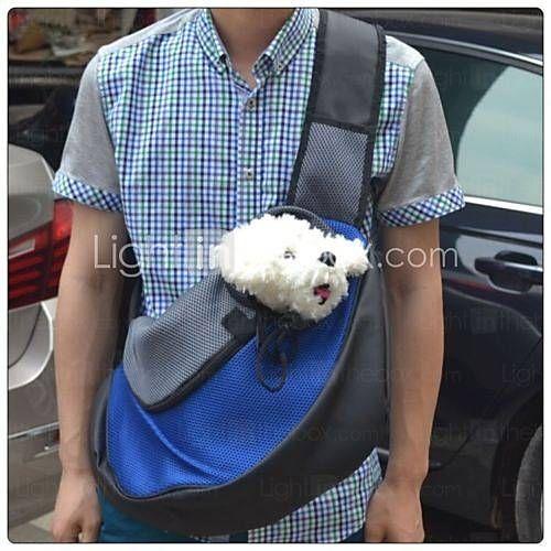 Γάτα / Σκύλος Αντικείμενα μεταφοράς & Σακίδια ταξιδίου πλάτης / Εμπρός σακίδιο Κατοικίδια Φορητό / ΑναπνέειΚόκκινο / Πράσινο / Μπλε / 3966753 2016 – €14.98