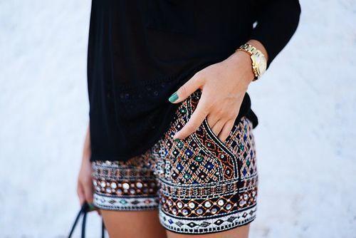Boho Chic shorts