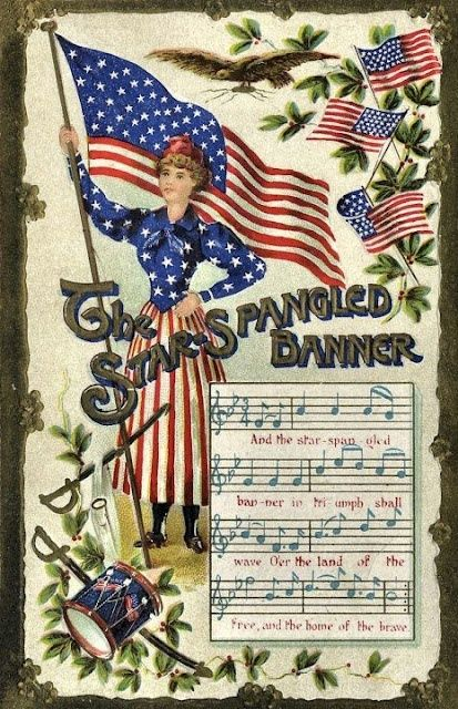queenbee1924:    1931 The Star-Spangled Banner became the …   ★ colors of freedom ★