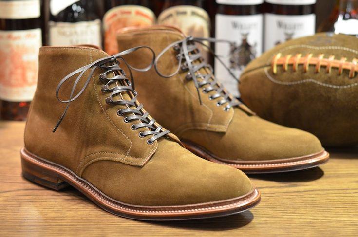 Alden Shoe – Snuff Suede Flex PTBoot Restock (LSW & LSBH)