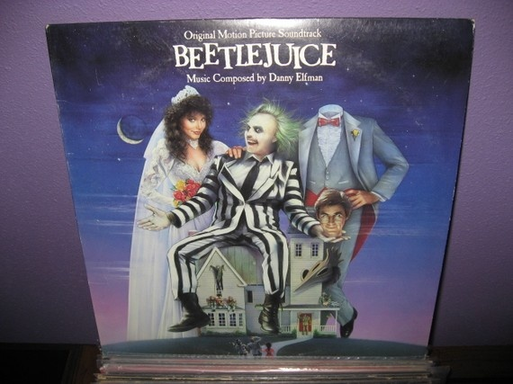 Rare Vinyl Record Beetlejuice Original by JustCoolRecords on Etsy, $30.00