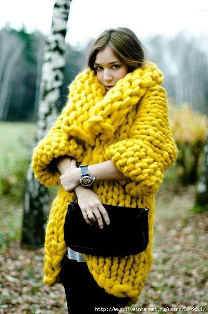 Galería: 26 Chaquetas Tejidas a la Moda | CTejidas [Crochet y Dos Agujas]