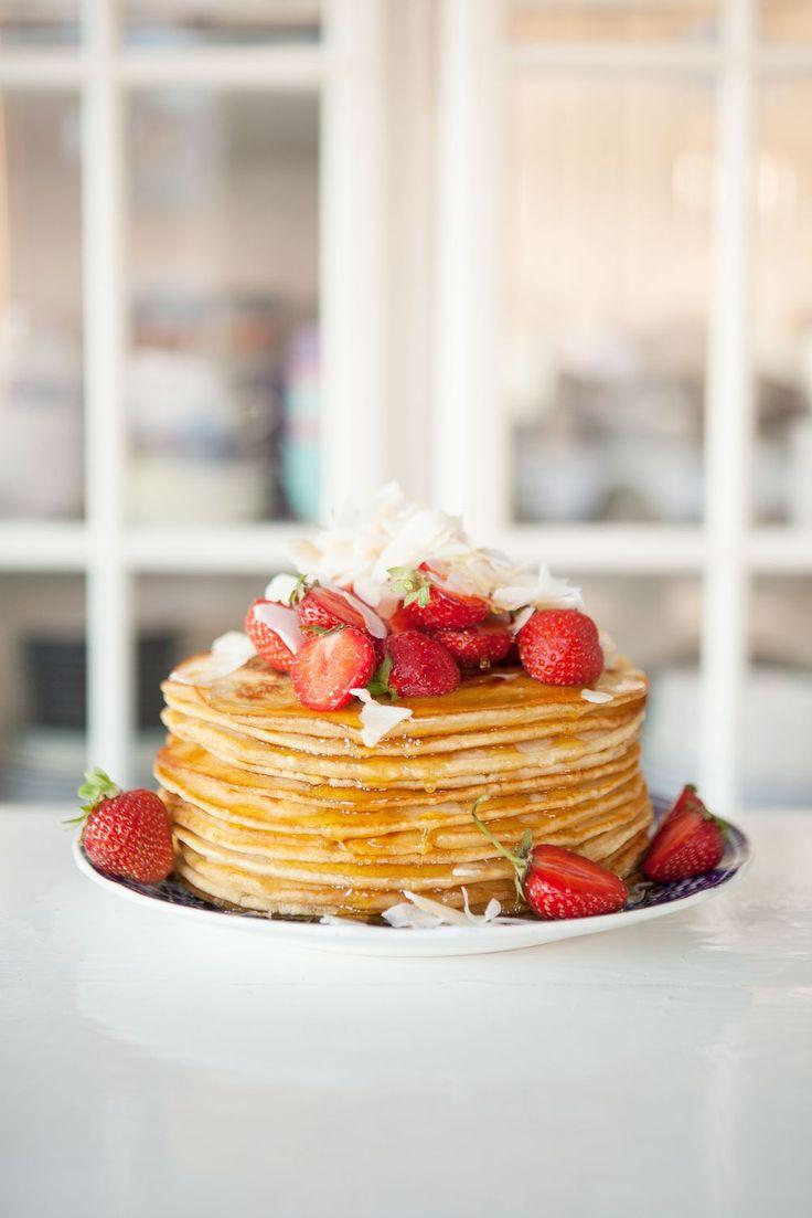Pancakes via Made by Mary #recipe
