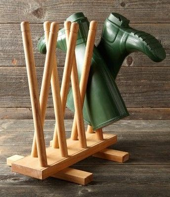 OSM solid wooden Boot Holder