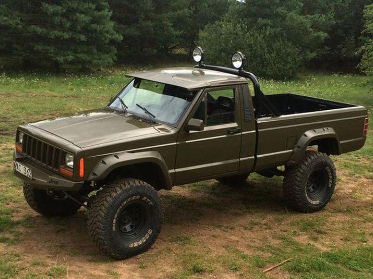 Jeep Comanche MJ Pickup ABS Hard Body( 313 mm WB ) - Club
