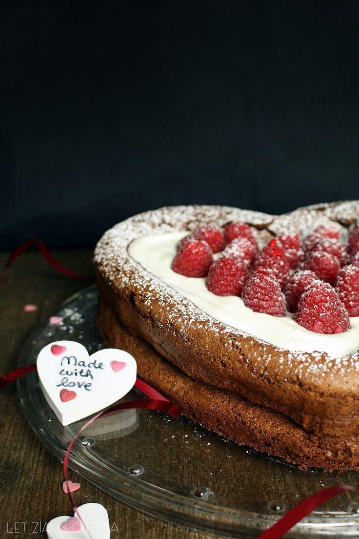 Letizia in Cucina: Dolce al cioccolato senza farina di Joséphine - Sa...