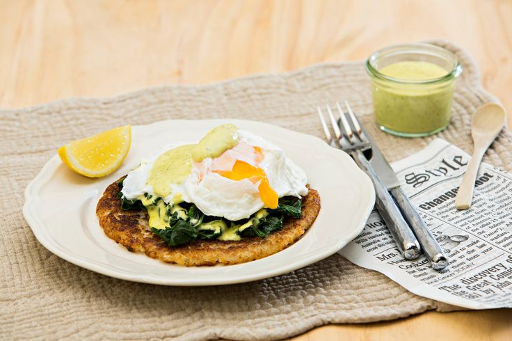 Eggs Florentine with Simple Hollandaise