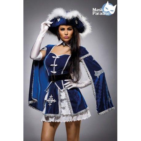 Musketeer Komplettset Kostüm