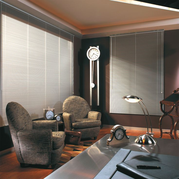 Aluminum Blinds are commonly used in large scale commercial applications, especially in office and industrial buildings. Description from blindsmax.com. I searched for this on bing.com/images